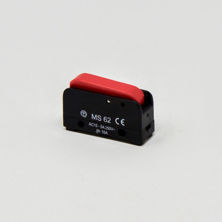 Red Lever Microswitch for Ironmaster Iron