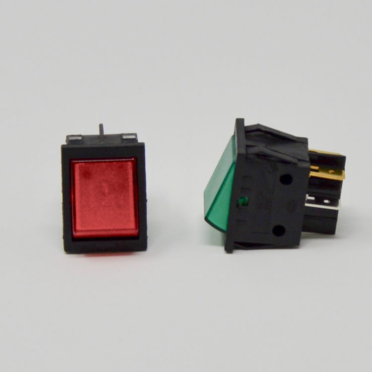 Red or Green On-Off Switch
