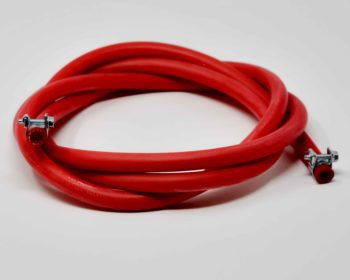 Red Silicone Steam Hose
