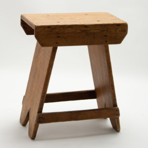 Small Vintage Tailors Stool
